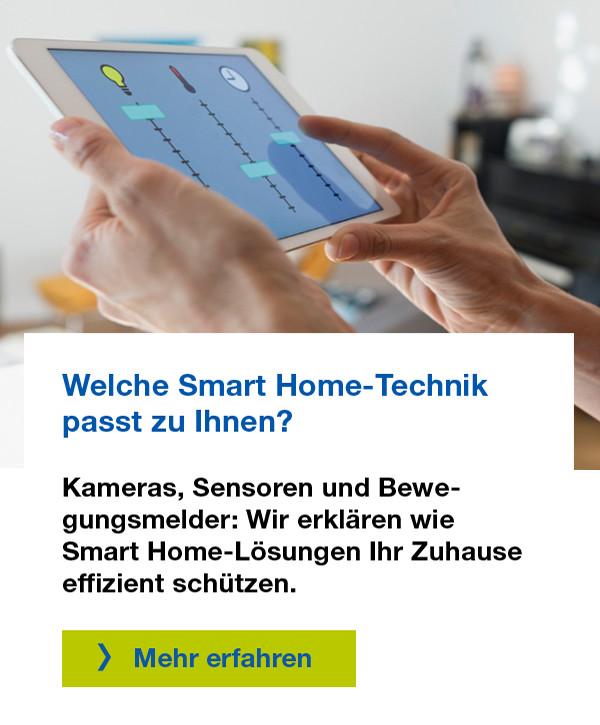 Welche Smart Home-Technik passt zu Ihnen?