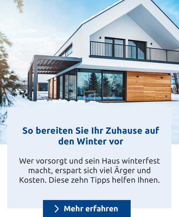 So bereiten Sie Ihr Zuhause auf den Winter vor