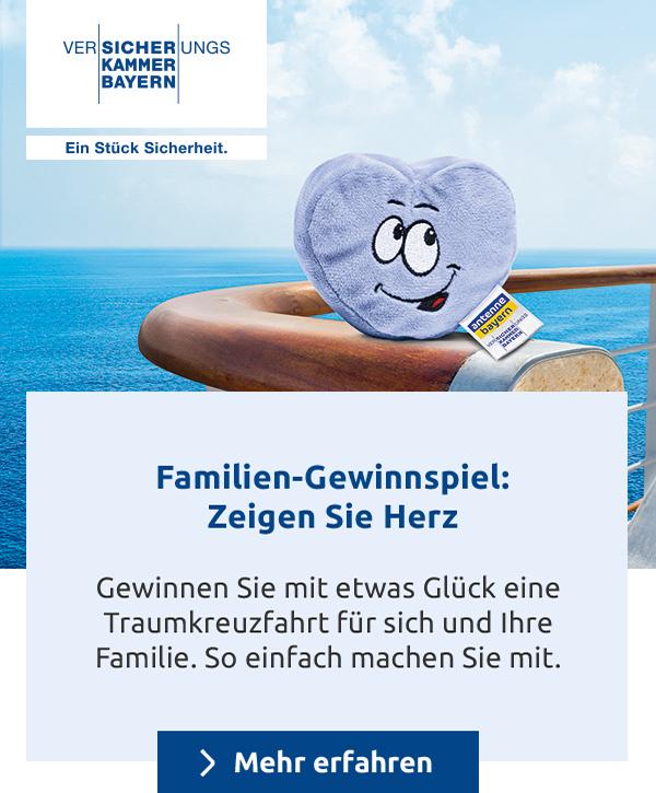 Familien-Gewinnspiel: Zeigen Sie Herz