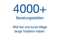 > 4000 Beratungsstellen