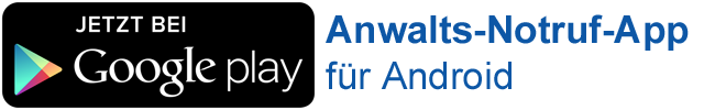 Anwalts-Notruf-App in Google Play laden
