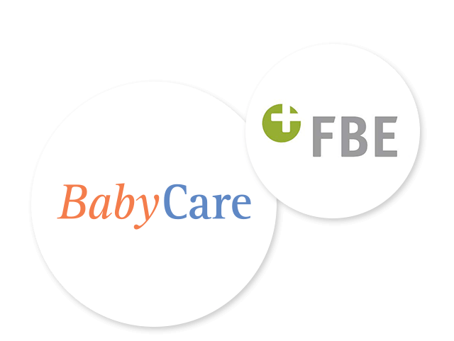Kooperationspartner BabyCare und FBE